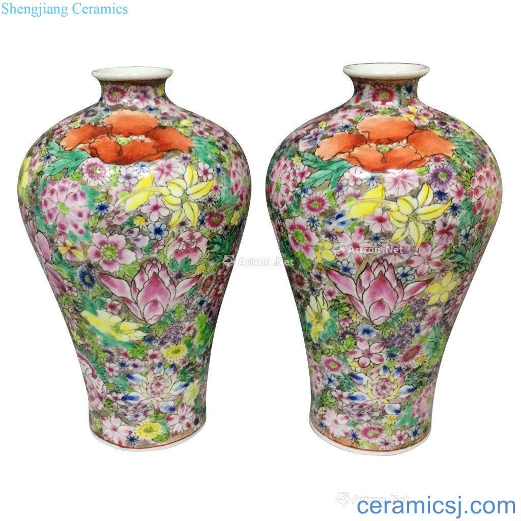 Qing qianlong enamel paint